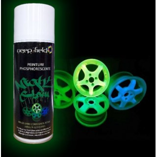 Black Light Fluorescent Spray Paint