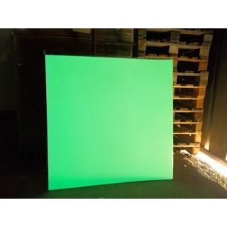 Photolumineszierende metallische Platten 1m²
