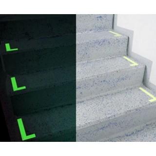 Photolumineszierende L Markierer, für Aufgangstreppen