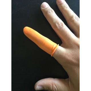Gummihandschuhe für die Finger - Packung mit 100