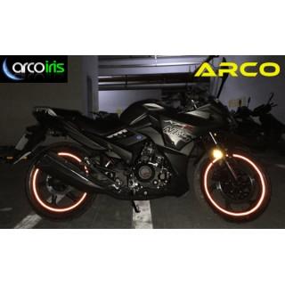 Reflektierenden Borte für Motorradfelge ARCO